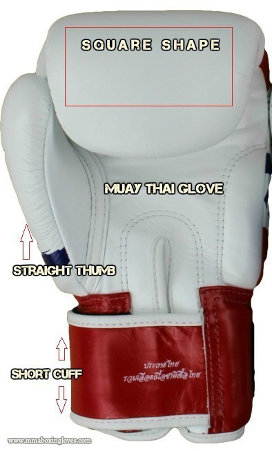THE FIVE KEY DIFFERENCES  Muay Thai gloves VS  Boxing gloves
