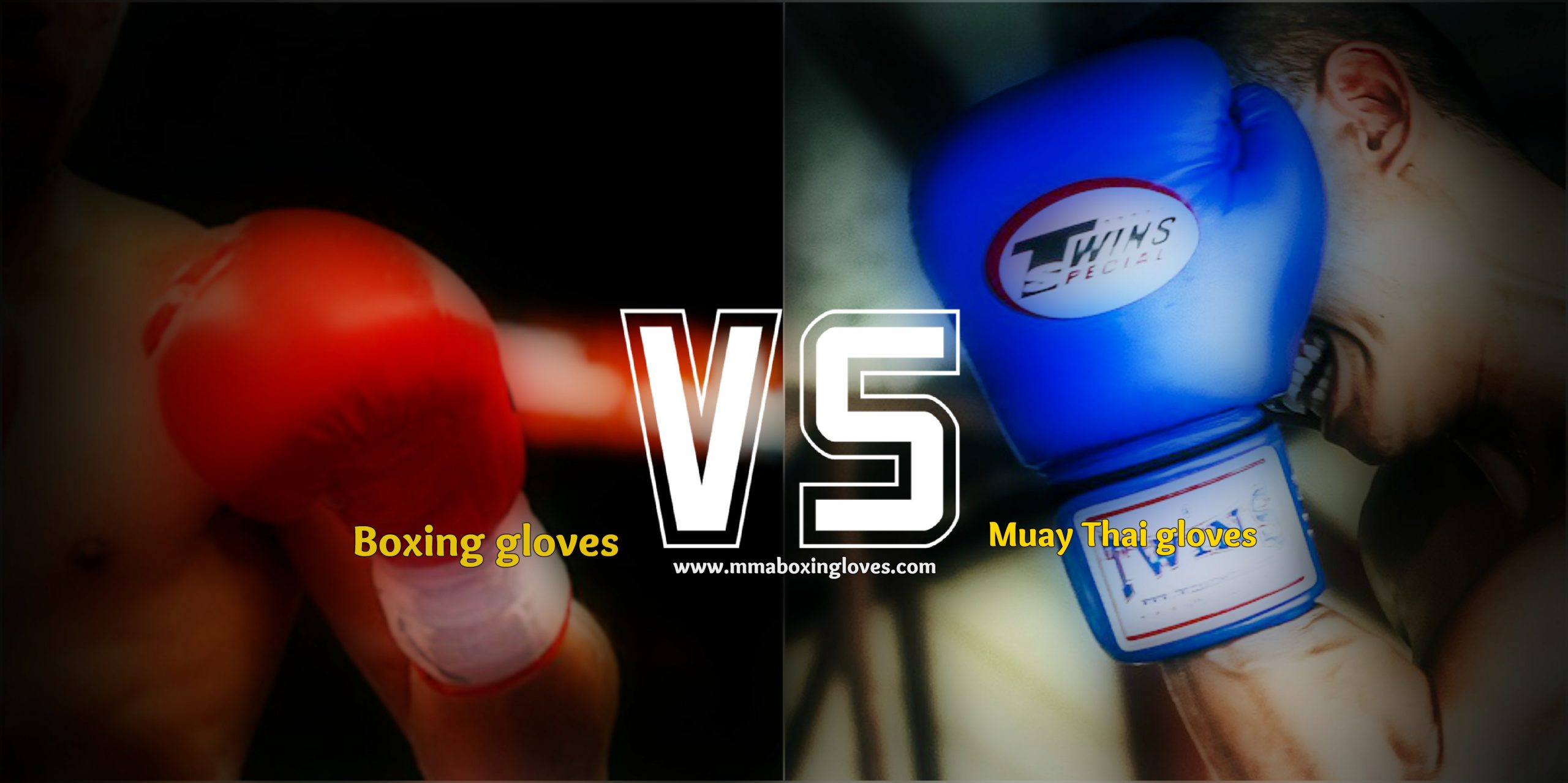 Muay Thai gloves VS. Boxing gloves