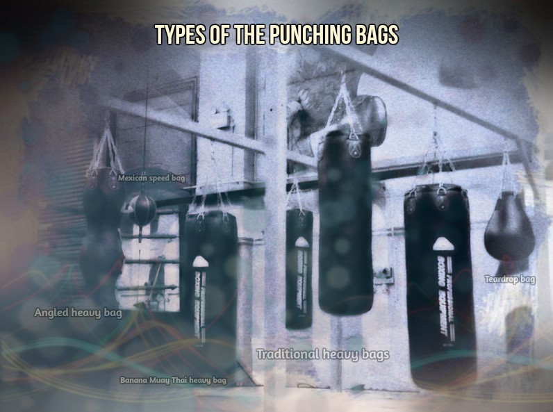 Punching bag types-Full list