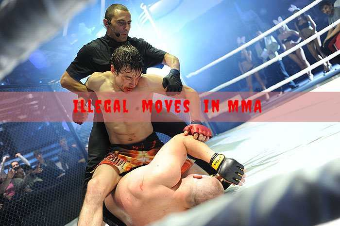 Illegal Moves In MMA