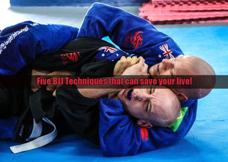 bjj technicues