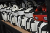Boxing pads-your best friends in the gym!