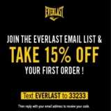 Take 15 % OFF  Your First Order!